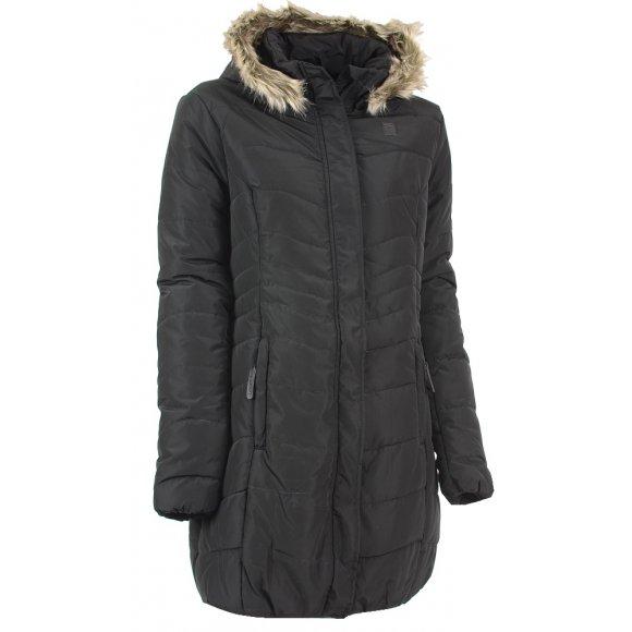 Dámský zimní kabát LOAP TAFETA CLW1685 ČERNÁ