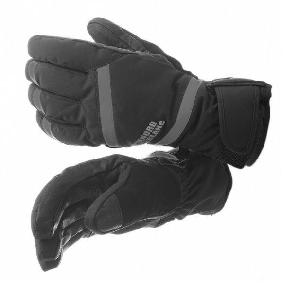 Lyžařské rukavice NORDBLANC TRULY NBWG5976 ČERNOŠEDÁ