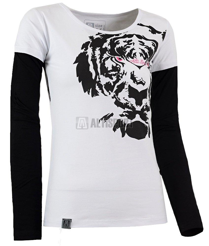 f3e1387030d3 Dámské triko s dlouhým rukávem ALTISPORT PELOPE ALLW16071 BÍLÁ ...