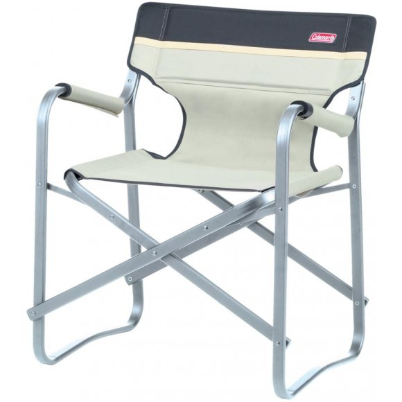 Kempingové skládací křesílko Coleman Deck Chair khaki