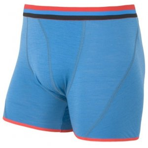 Pánské boxerky SENSOR MERINO ACTIVE modrá