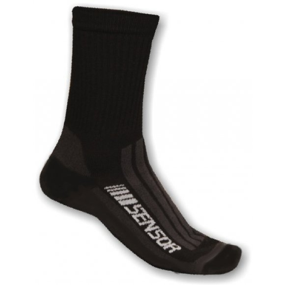 Ponožky Sensor Treking Evolution černá/šedá