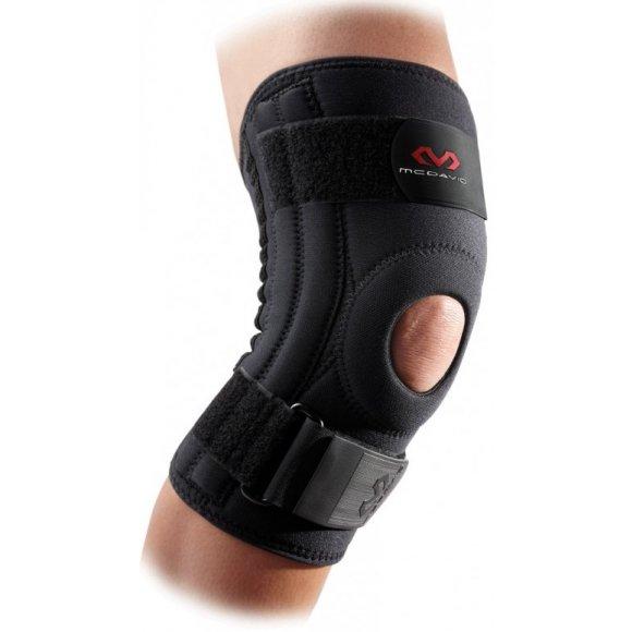 Ortéza pro zpevnění kolenní čéšky McDavid 421R černá