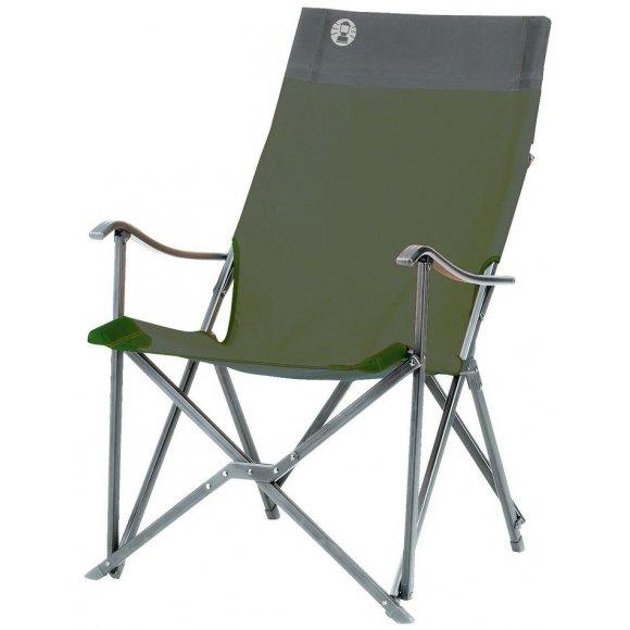 Kempingové skládací křesílko Coleman Sling Chair zelená