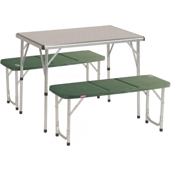 Kempingový skládací stůl Coleman Pack-Away Table For 4 stříbrná