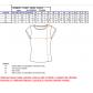 Dámské triko s krátkým rukávem ALTISPORT TAVARA ALLW16059 ČERNOSTŘÍBRNÁ