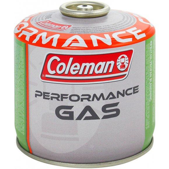 Plynová kartuše Coleman C300 Performance Oranžová/zelená