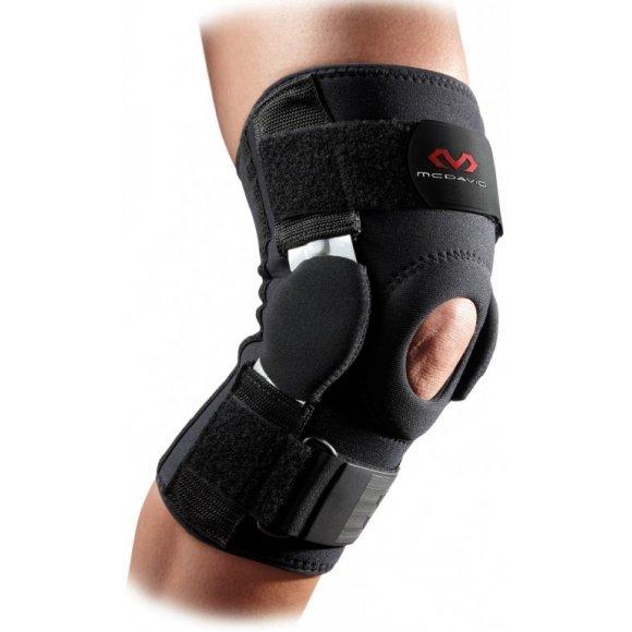 Ortéza na koleno s výztuhami McDavid 422R černá