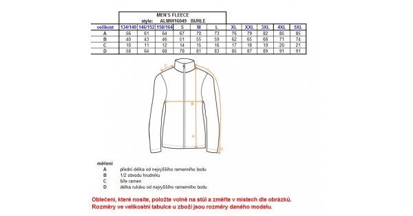 Pánská fleece mikina ALTISPORT BURLE ALMW16049 ŠEDÁ velikost  L   ALTISPORT .cz be79e66229f