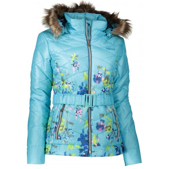 Dámská zimní bunda KIXMI BELINDA SVĚTLE MODRÁ