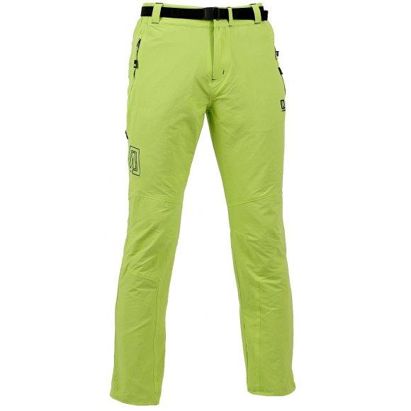 Pánské outdoorové kalhoty ALTISPORT IPED ALMW16029 SVĚTLE ZELENÁ