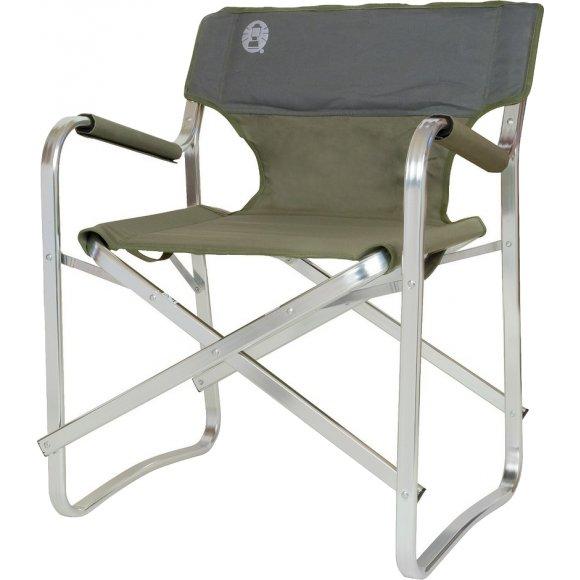 Kempingové skládací křesílko Coleman Deck Chair zelená
