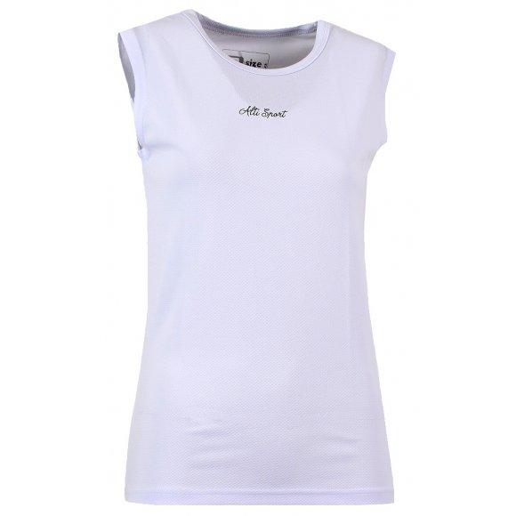 Dámské termo triko bez rukávu ALTISPORT GALANA ALLW16111 BÍLÁ