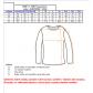 Pánské triko s dlouhým rukávem ALTISPORT USAK ALMW16080 MODRÁ