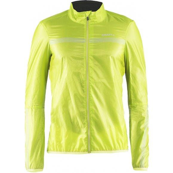 Pánská cyklistická bunda Craft Bike Featherlight žlutá