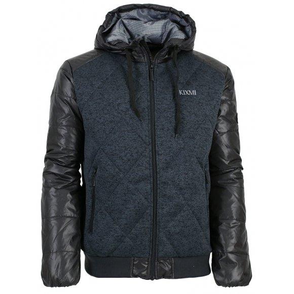 Pánská zimní bunda KIXMI BLAISE AAMJW16754 ČERNÁ