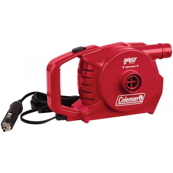Elektrická pumpa Coleman 12V QuickPump červená