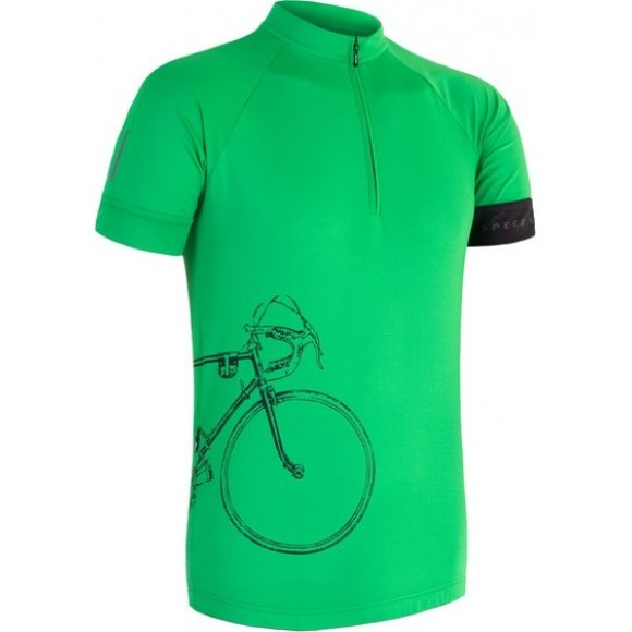 Pánský dres Sensor Tour kr. rukáv zelená