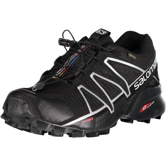Pánské běžecké boty Salomon Speedcross 4 GTX Black/black/si