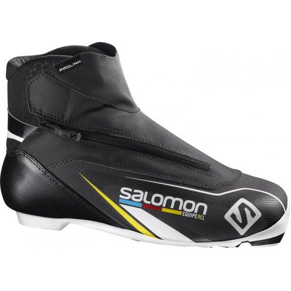 Boty na běžky Salomon Equipe 8 Classic Prolink černá