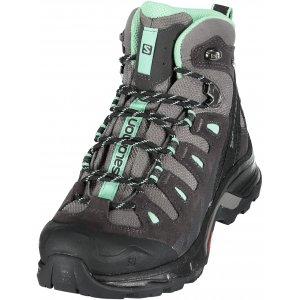 b1653bac7e2 Dámské turistické boty Salomon Quest Prime GTX® W Detroit asphalt lucite  green