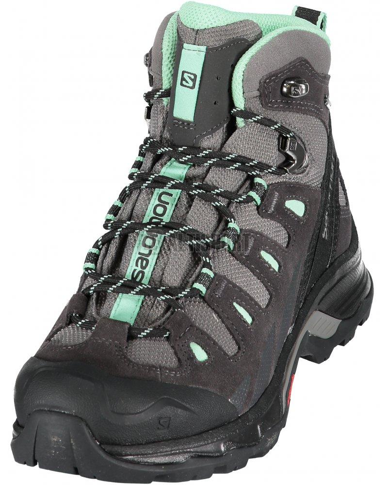 Dámské turistické boty Salomon Quest Prime GTX® W Detroit asphalt lucite  green 89287de760