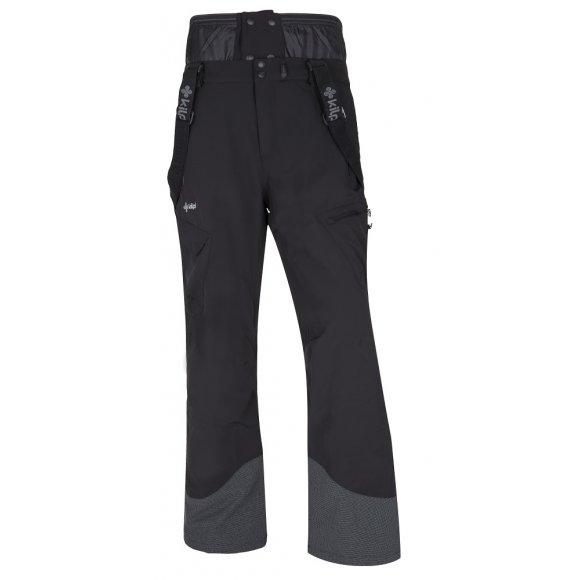 Pánské zimní kalhoty KILPI TER-M ČERNÁ