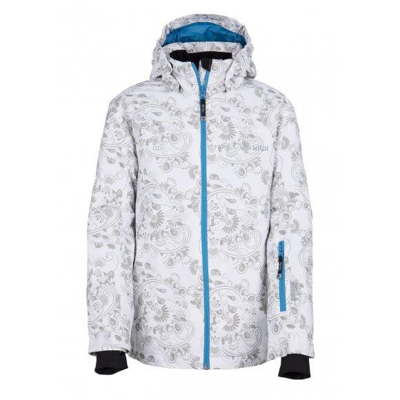 Dětská zimní bunda KILPI GENOVESA-JG BÍLÁ