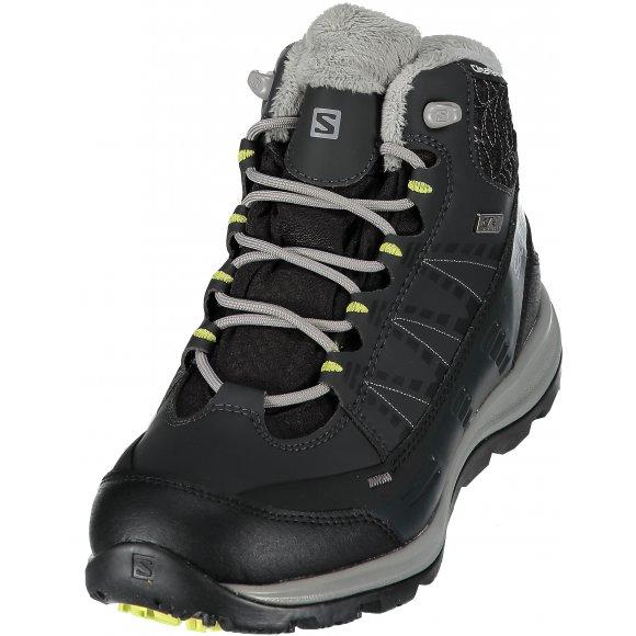 Dámské zimní boty Salomon Kaina CS WP 2 Black/asphalt/flashy-x