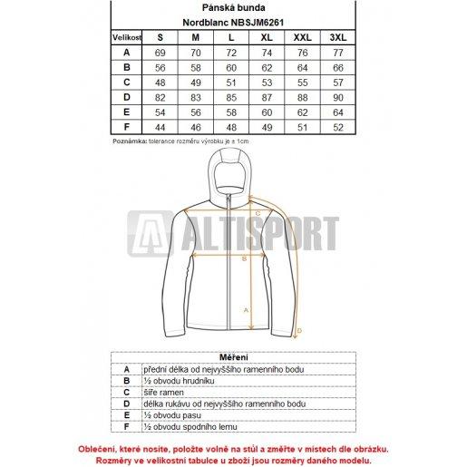 Pánská bunda NORDBLANC TRYST NBSJM6261 KRÁLOVSKY MODRÁ