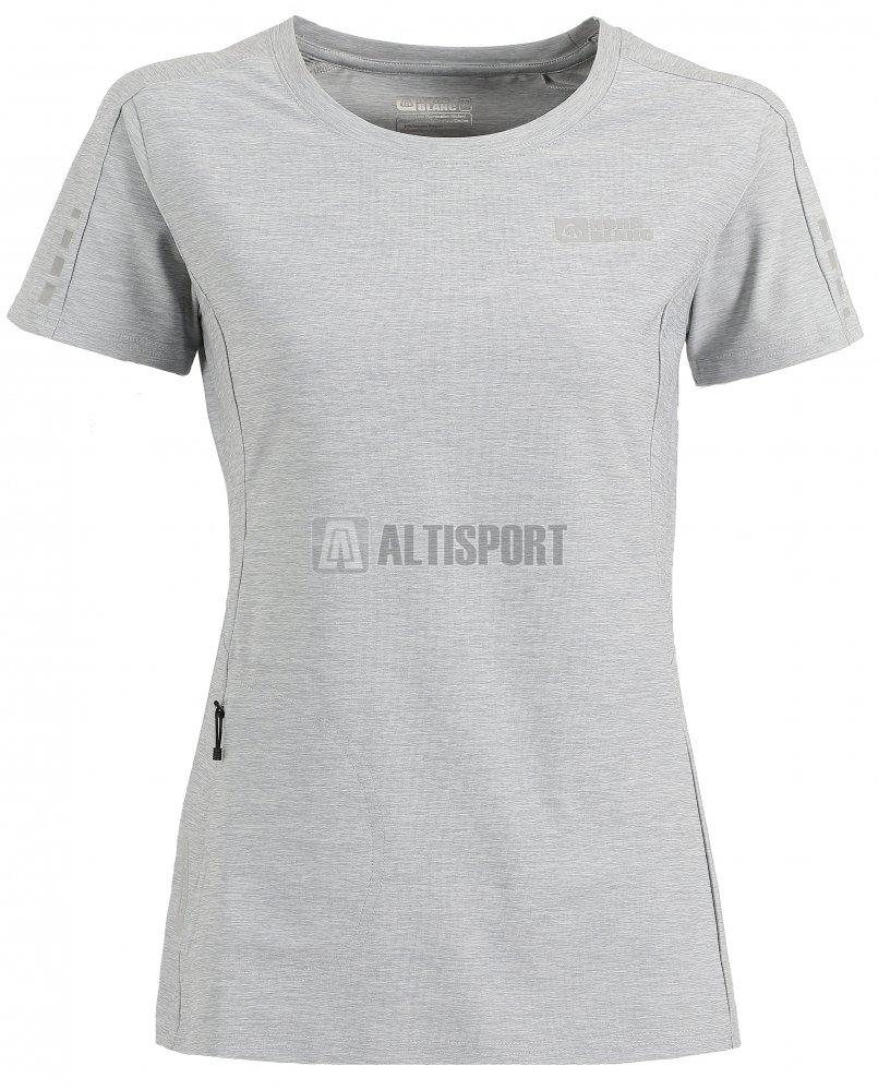 Dámské běžecké tričko NORDBLANC PROPER NBSLF6172 SVĚTLE ŠEDÝ MELÍR ... 123d93f439