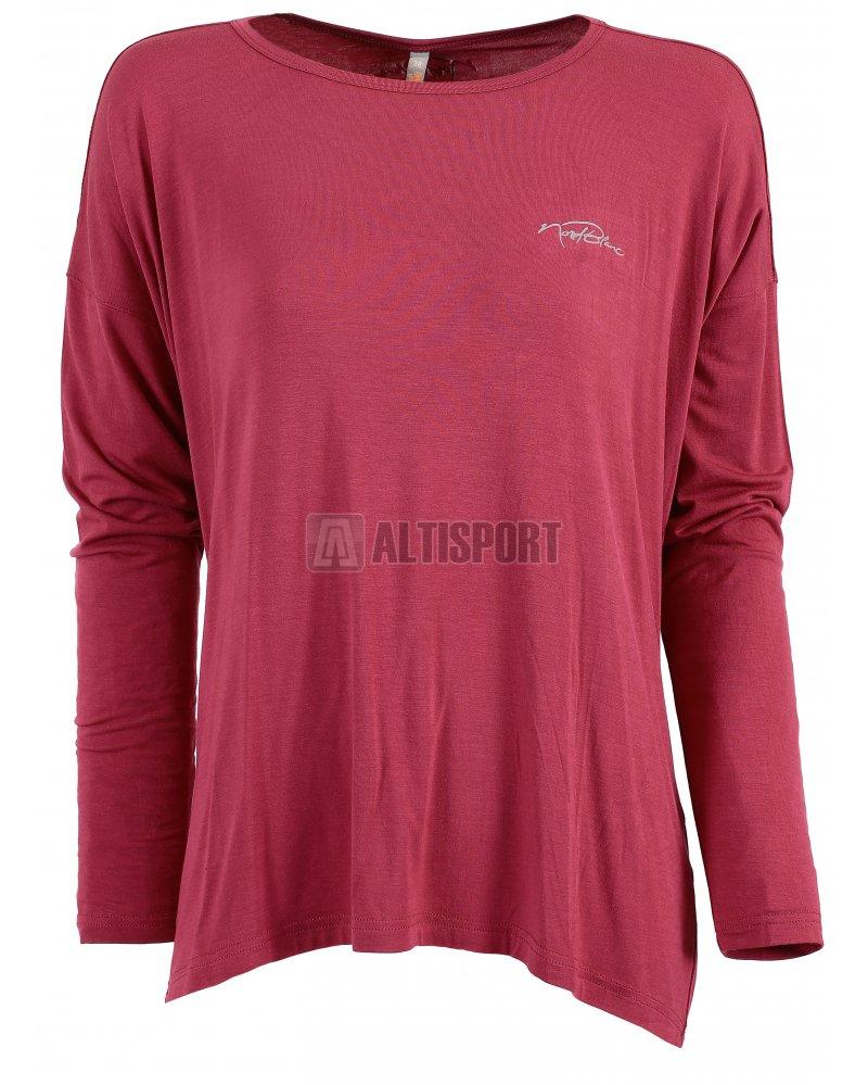 a0f426ad7b08 Dámské tričko na jógu NORDBLANC SLOPPY NBSLF6183 ČERVENÁ MALINA ...
