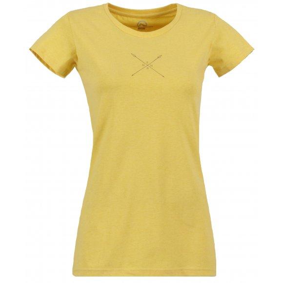 Dámské tričko NORTHFINDER VERONICA TR-4230SI ŽLUTÁ