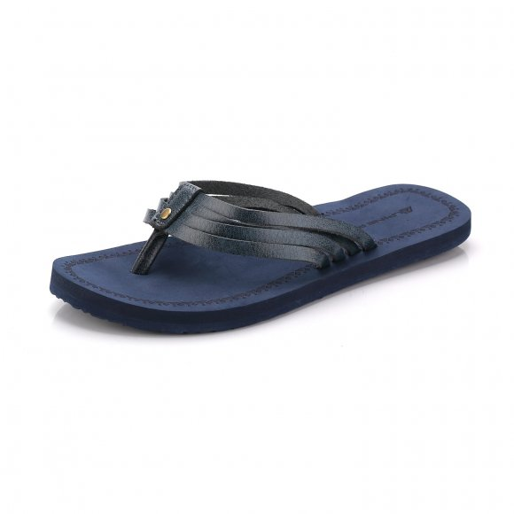 Dámské pantofle ALPINE PRO HARINDA LBTJ130 MODRÁ