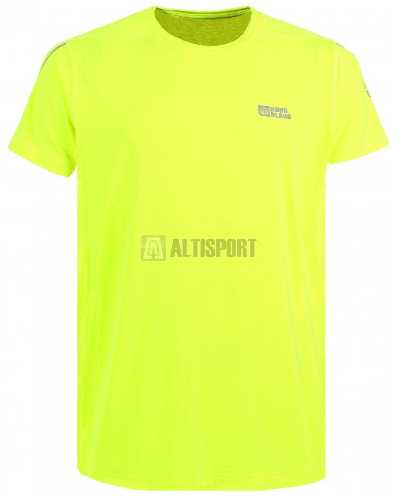 Pánské běžecké tričko NORDBLANC REFLECTION NBSMF6167 BEZPEČNÁ ŽLUTÁ ... c2d638a700