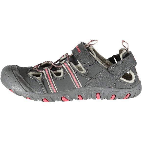 Dětské sandále ALPINE PRO BEDELI KBTJ148 ŠEDÁ