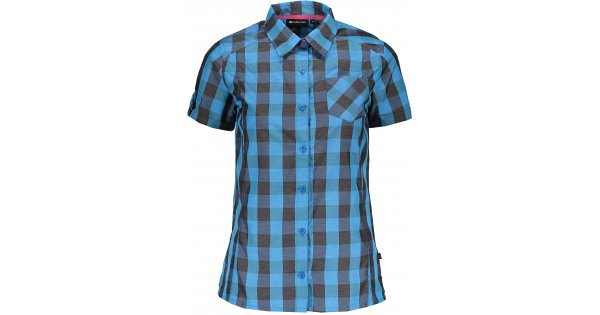 c804e600665 Dámská košile s krátkým rukávem ALPINE PRO LURINA LSHJ011 MODRÁ velikost  M  ( 38 )   ALTISPORT.cz