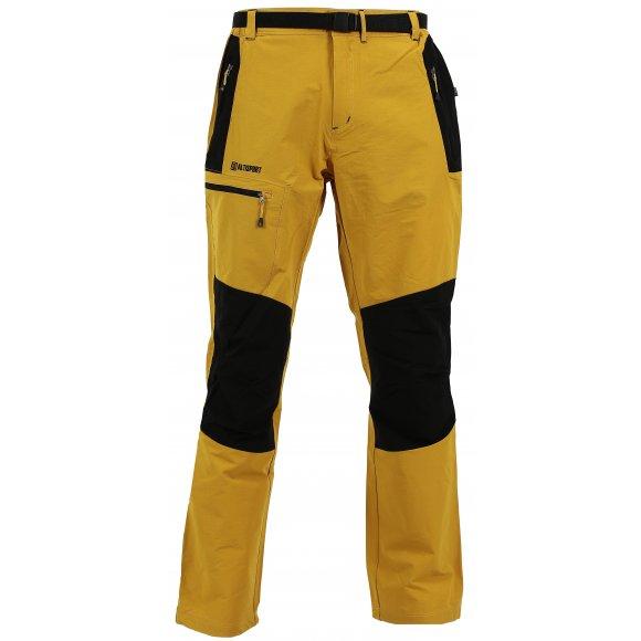 Pánské kalhoty ALTISPORT SADAR ALMS17018 ŽLUTÁ