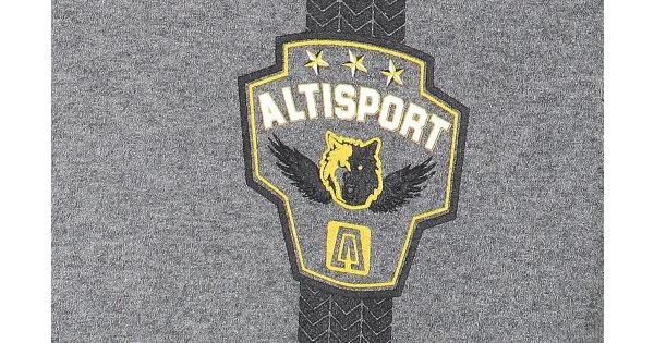 Chlapecká mikina ALTISPORT BASTAR-J ALJS17086 SVĚTLÝ MELÍR velikost   146-152   ALTISPORT.cz 3fdf2c352b