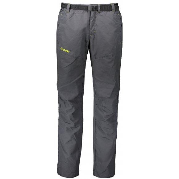 Pánské outdoorové kalhoty ALTISPORT MIRTUR ALMS17016 TMAVĚ ŠEDÁ