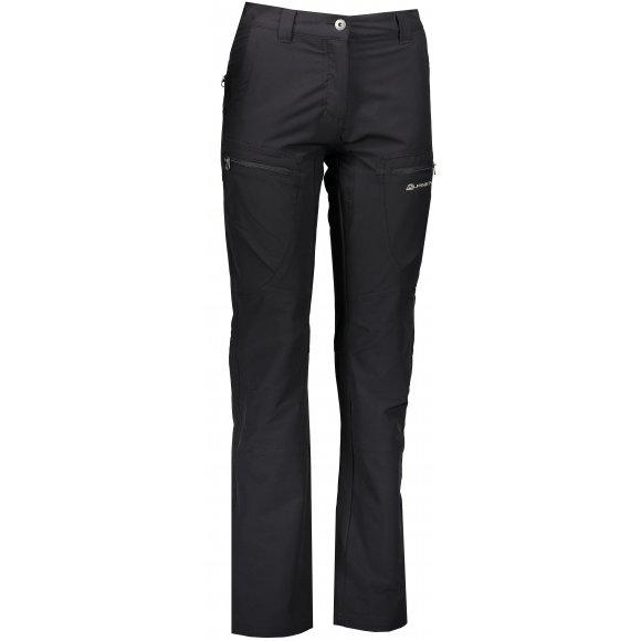 Dámské softshellové kalhoty ALPINE PRO SAMBARA LPAK148 ČERNÁ