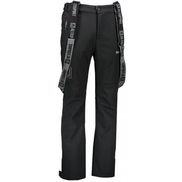 Pánské softshellové kalhoty ALTISPORT SCALO ALMW17026 ČERNÁ