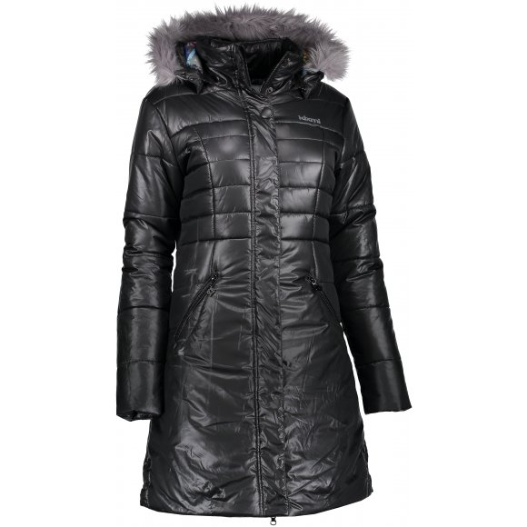 Dámský zimní kabát KIXMI DEISY AALPW17701 ČERNÁ