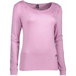 Dámské triko s dlouhým rukávem KIXMI DORRI SVĚTLE FIALOVÁ velikost ... 61b34d6da3
