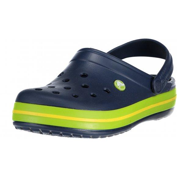 Pánské pantofle CROCS CROCBAND 11016-40I NAVY/VOLT GREEN/LEMON