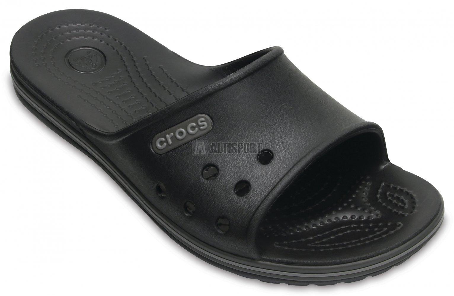 Pánské pantofle CROCS CROCBAND II SLIDE 204108-02S BLACK GRAPHITE ... b9c90d76d9