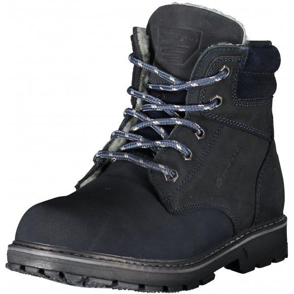 Dětské kotníkové boty ALPINE PRO JINNY KBTK151 TMAVĚ MODRÁ