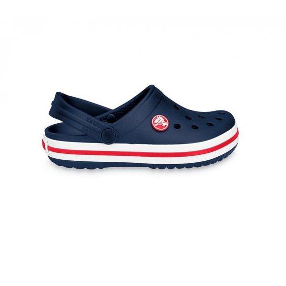 Dětské pantofle CROCS CROCBAND CLOG K 204537-485 NAVY/RED