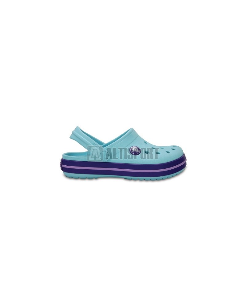 52a4b399f48 Dětské pantofle CROCS CROCBAND CLOG K 204537-4O9 ICE BLUE velikost ...
