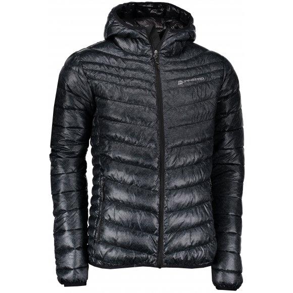 Pánská zimní bunda ALPINE PRO MOROR 2 MJCK214 SVĚTLE ŠEDÁ